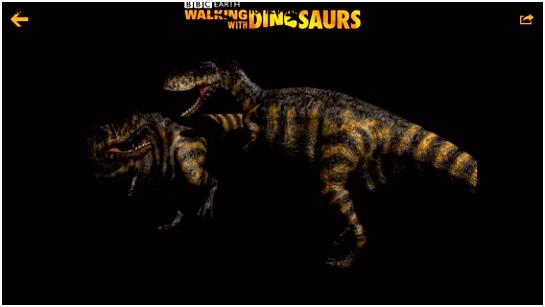 Walking with Dinosaurs Inside their World AppAddict