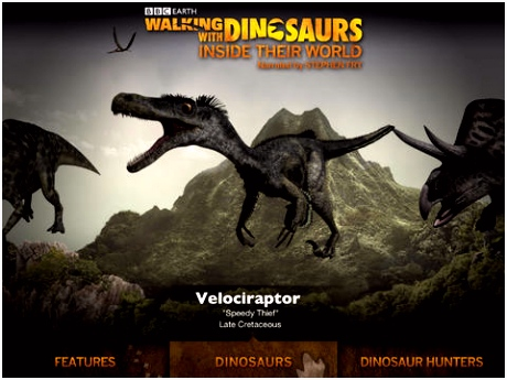 Walking with Dinosaurs Inside their World for iPad Digital