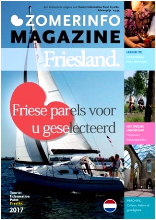 Zomerinfo magazine friesland nl 2017 by Tourist Information Point