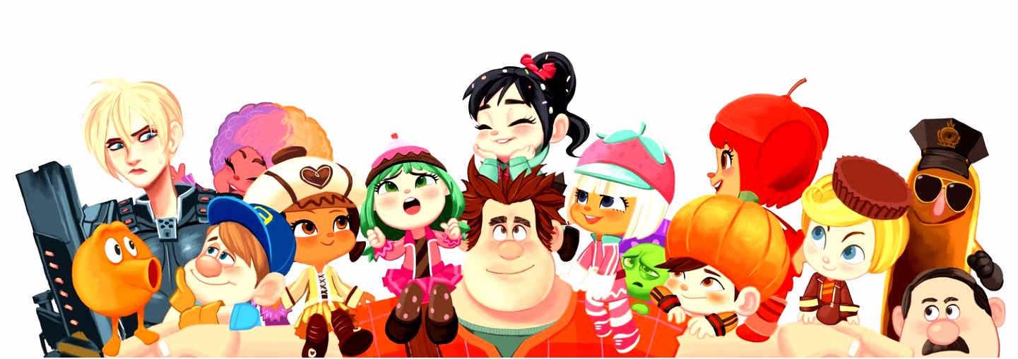 Wreck it Ralph by miacat7 on deviantART