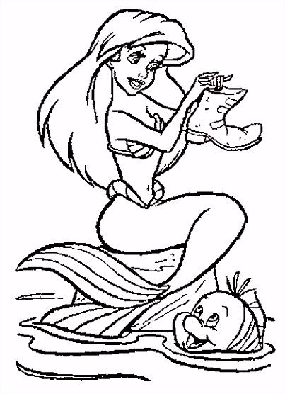 Kleurplaten van elfjes feeen en zeemeerminnen bilder zum ausmahlen