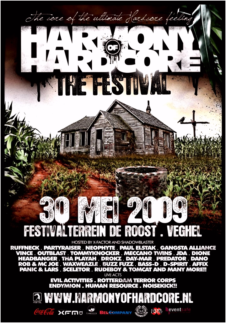 bezoekers · Harmony of Hardcore The Festival · The core of the