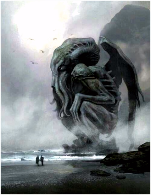 Cthulhu on the beach Lovecraft s Services in 2018