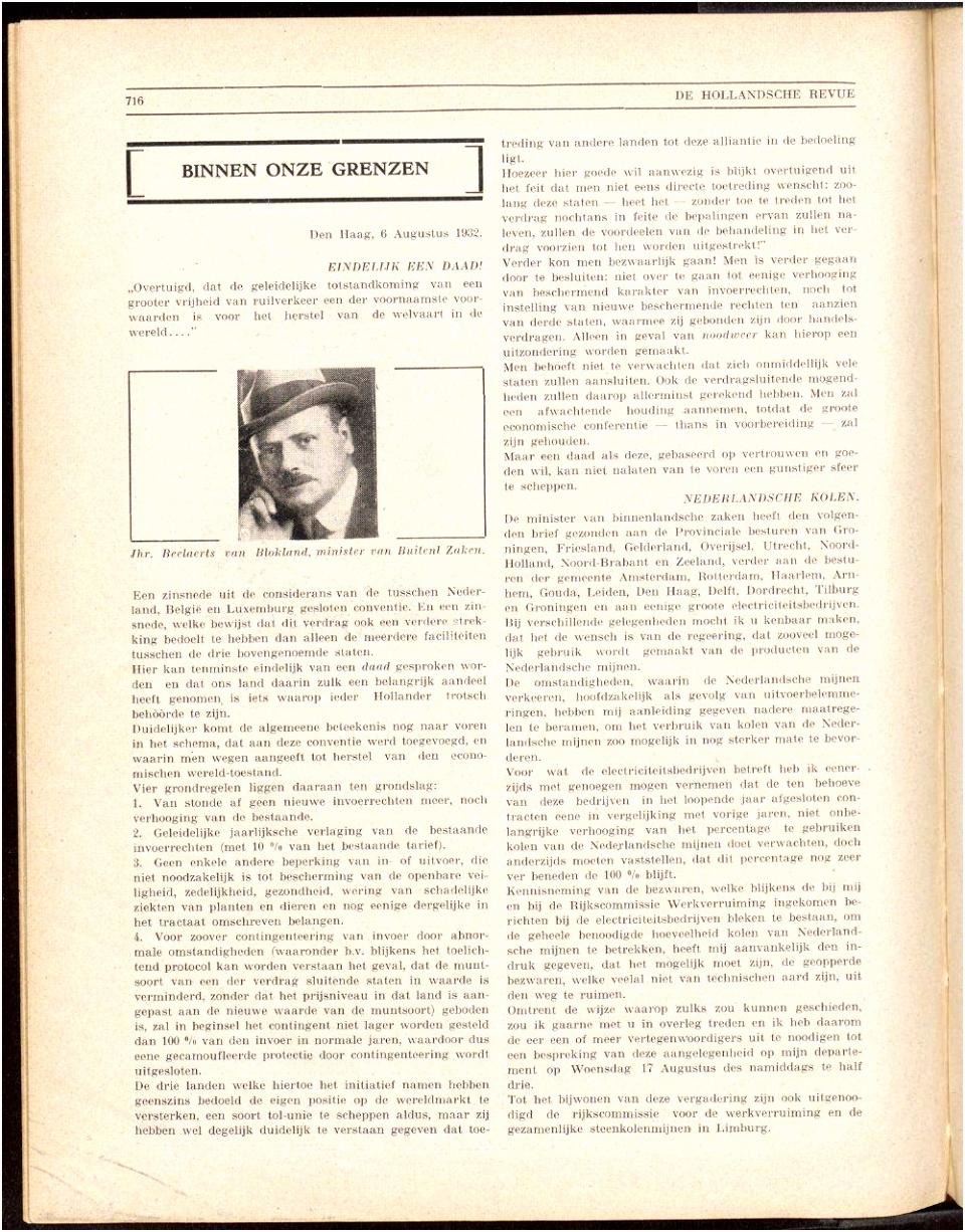 Delpher Tijdschriften De Hollandsche revue jrg 37 1932 no 1