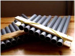 Workshop Schoolproject panfluit maken fluitlesleiderdorp