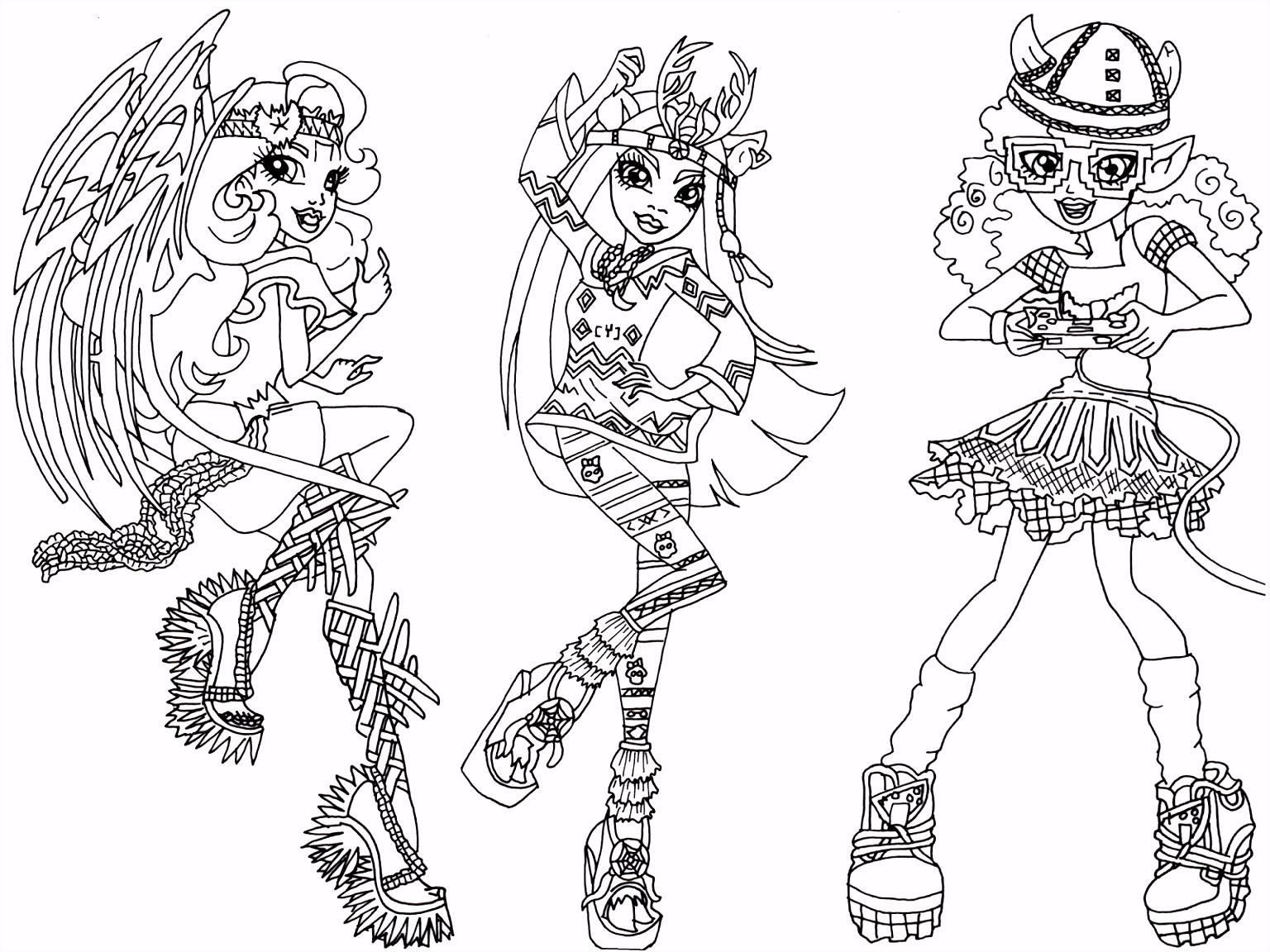 Monster High Coloring Pages Abbey Coloring Pages Coloring Pages