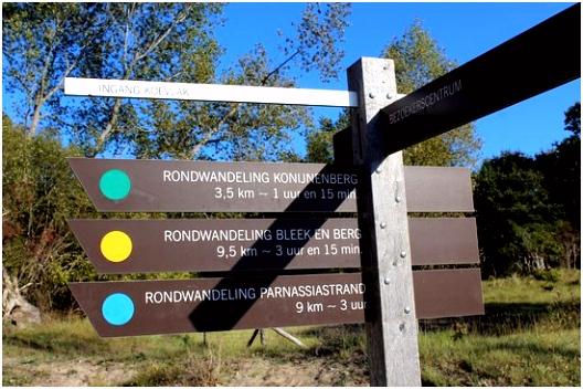 Routes Foto van Nationaal Park Zuid Kennemerland Overveen