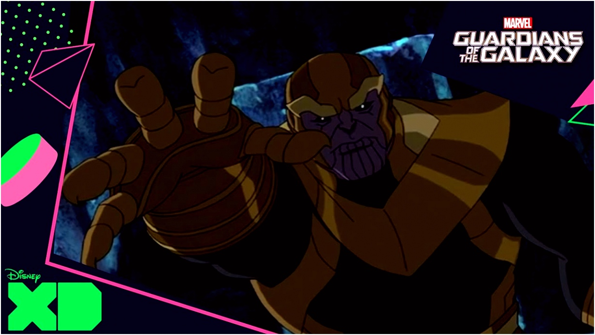 Marvel s Guardians of the Galaxy verslaan Thanos