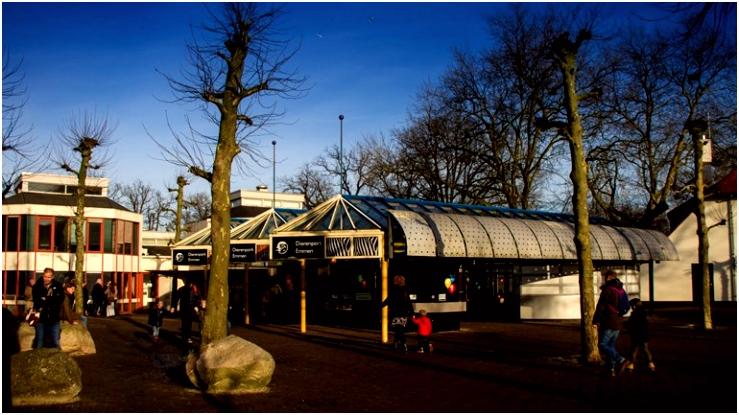 Kunst yoga en kleding in oude Dierenpark Emmen RTV Drenthe