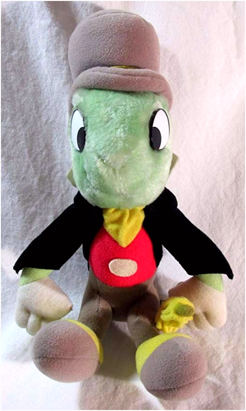 Amazon Vintage Disney Jiminy Cricket Plush Pinocchio Toys & Games