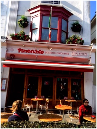In En Outdoor at Pinokkio Pinocchio Picture Of Pinocchio Brighton Tripadvisor A4be34vcg1 S6ba0uesx4