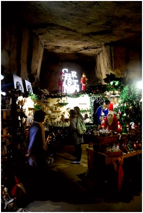 Magical Christmas atmosphere Picture of Cauberg Cavern