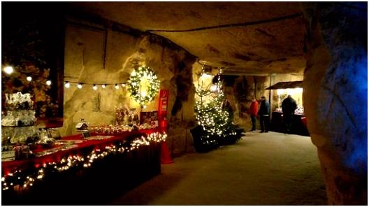 Xmas caves Picture of Castle Ruins & Velvet Cave Valkenburg