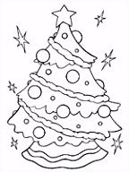We4you2 Kleurplaten van Kerstbomen kleurplaten Feestdagen