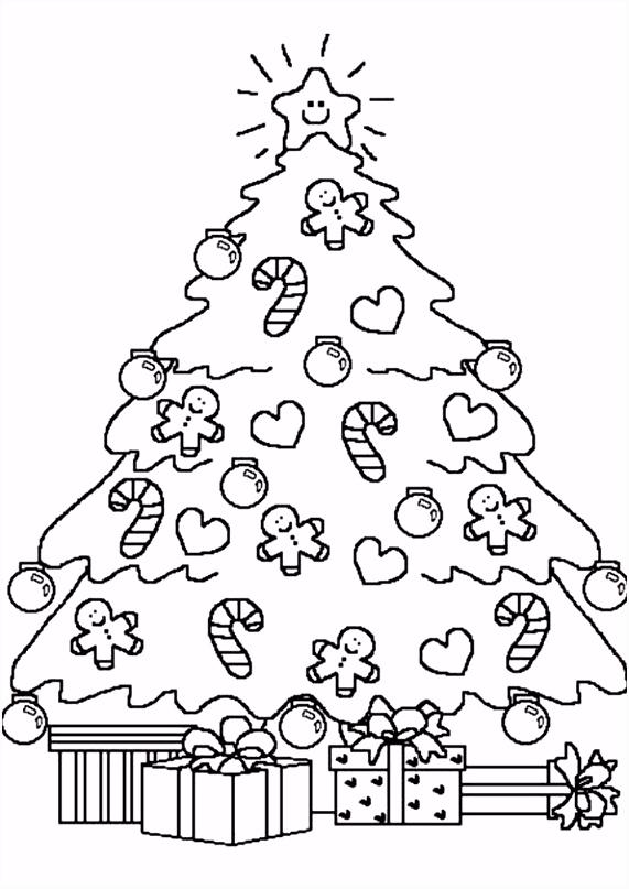 Kerst kleurplaten kerst