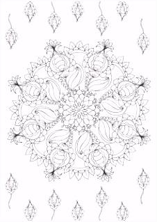 209 beste afbeeldingen van Healing mandala Coloring pages