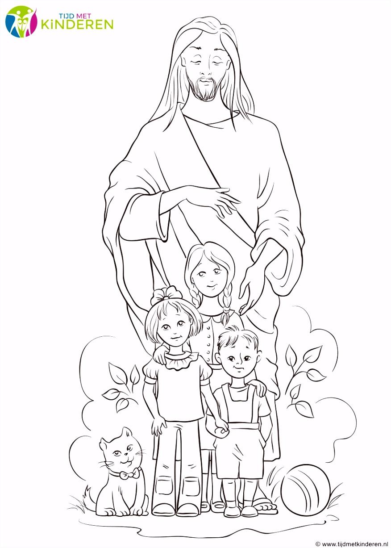 Jezus Kleurplaten Fris Christelijke Kleurplaten Voor Kinderen