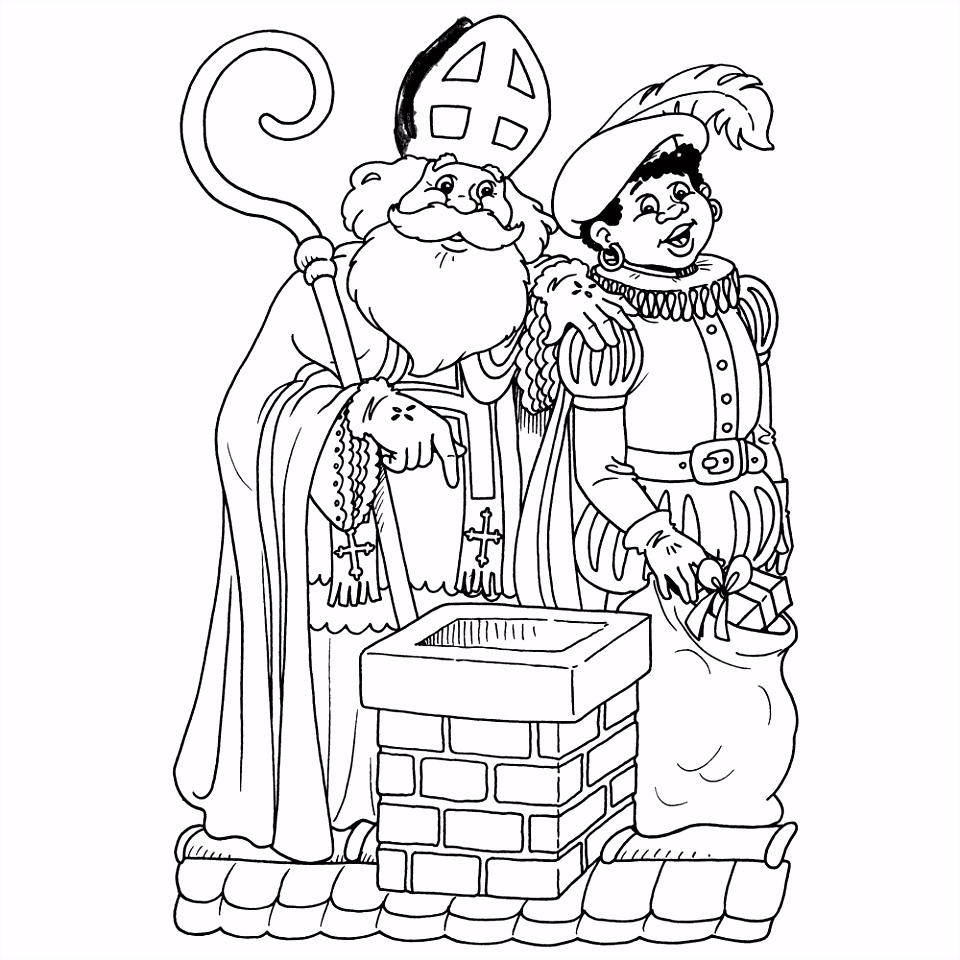 Leuk voor kids – Sinterklaas en Piet op het dak