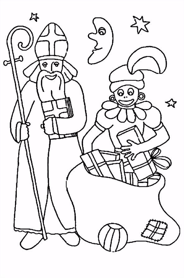 Kleurplaat Sinterklaas En Zwarte Piet Peuters Sinterklaas Kleurplaten N3bx22ngb9 Xvpyuuhdi5