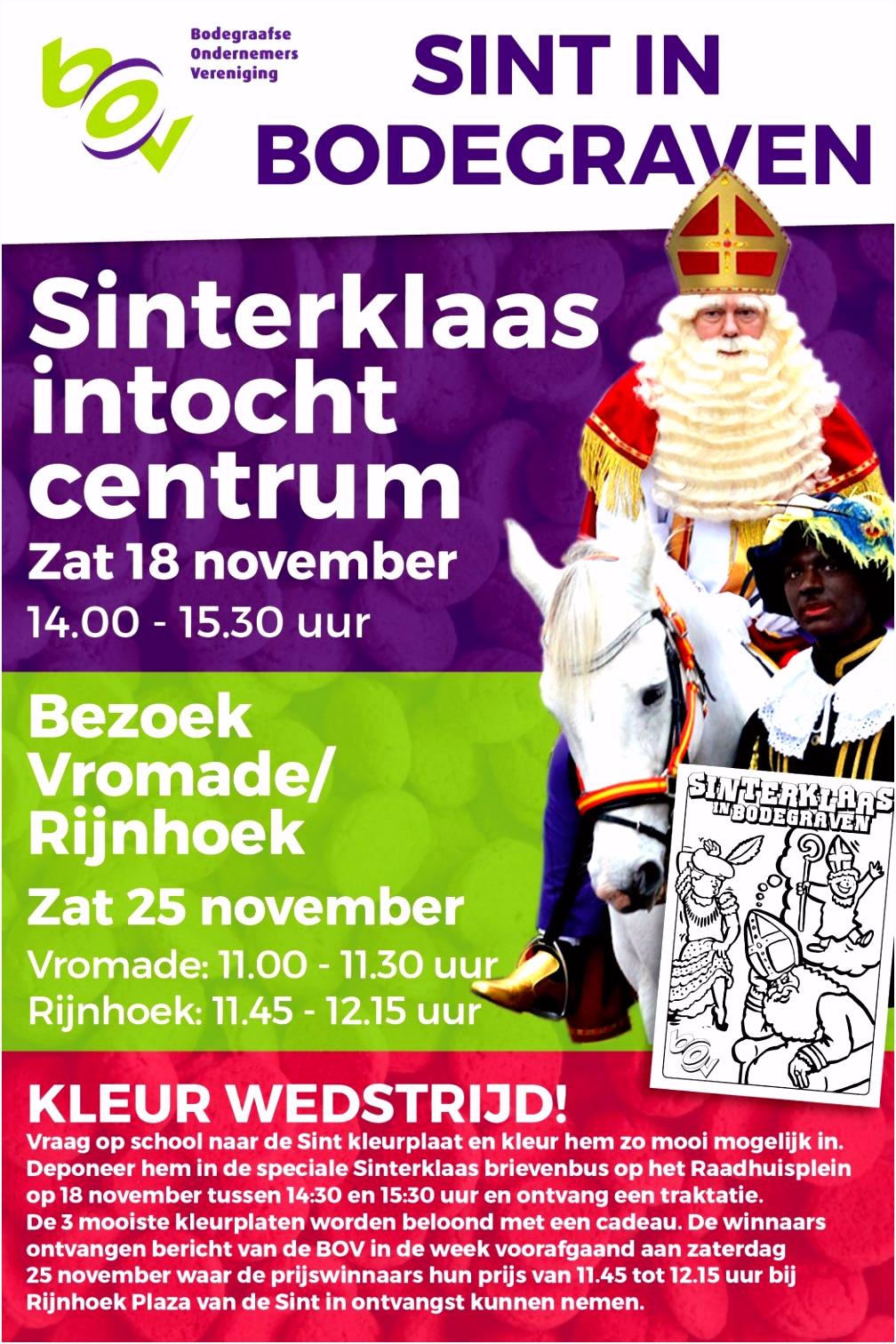 Sinterklaasintocht in Bodegraven