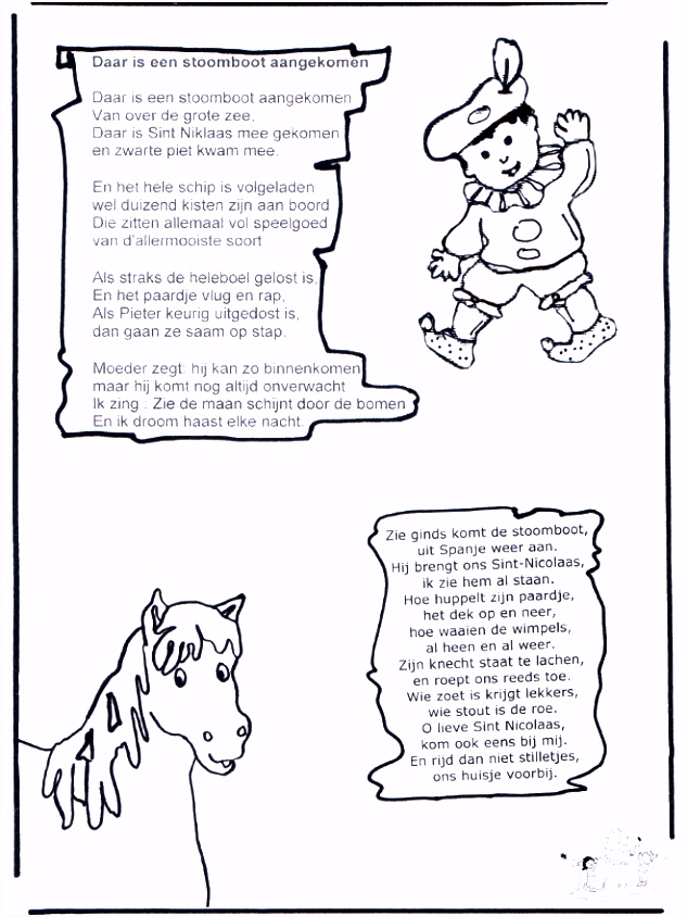 Sinterklaas En Zwarte Piet Liedjes ARCHIDEV