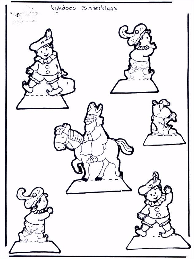Kleurplaat Sinterklaas Kijkdoos Kijkdoos Sint Knutselen Sint S0jg60fli1 Csids4ydd6