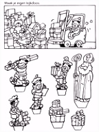 Kleurplaat Kijkdoos Sinterklaas Kleurplaten