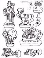 Sinterklaas Kijkdoos Knutselpagina knutselen knutselen en