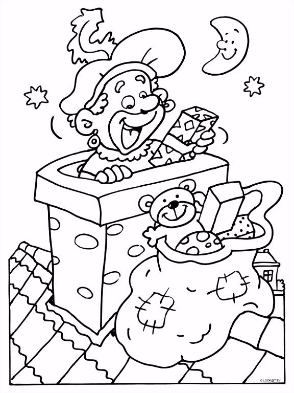Pinter Kleurplaat Sinterklaas Peuters Yg67 Tokyoughoul Re Kousatu