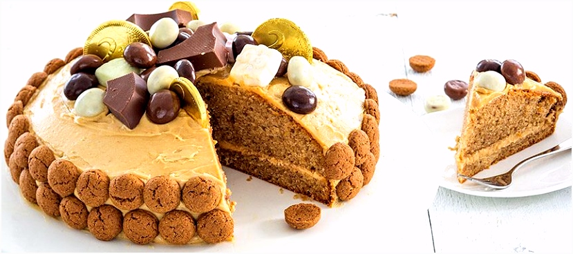 Speciaal voor Sinterklaas pepernoten taart De Siermarkt