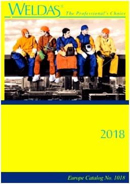 Weldas Europe Catalog 2018
