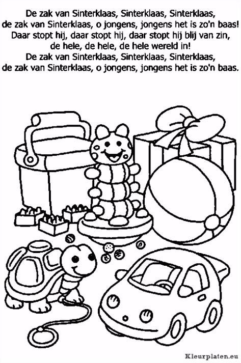 De Zak Van Sinterklaas Tekst – Bsdpng