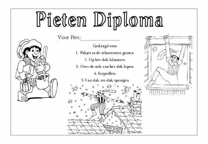 Kleurplaat Geslaagd Diploma ARCHIDEV