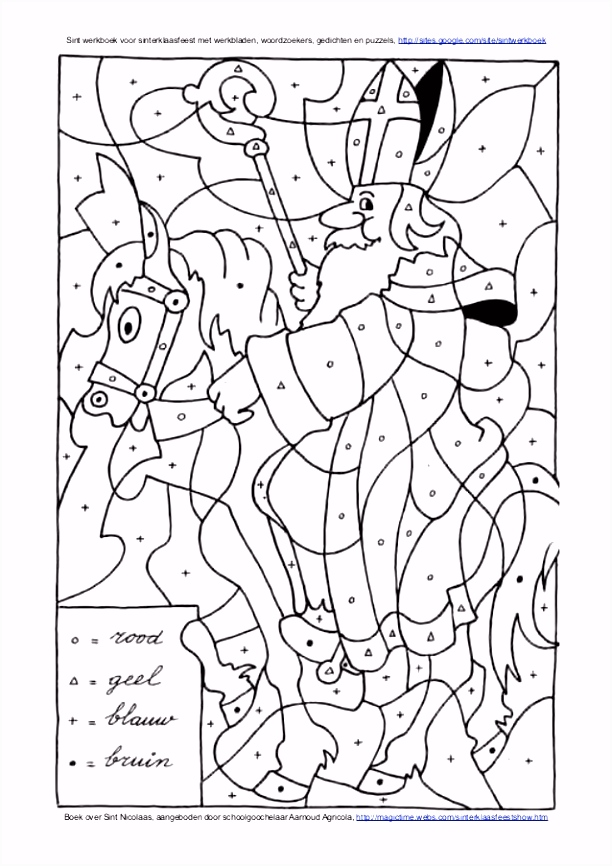 School Kleurplaten Sinterklaas ARCHIDEV
