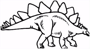Afbeeldingsresultaat voor kleurplaten dinosaurus