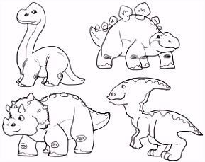 how to draw cute dinosaurs cute dinosaurs step 2