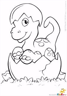 kleurplaat dinosaurus kleuter Google zoeken