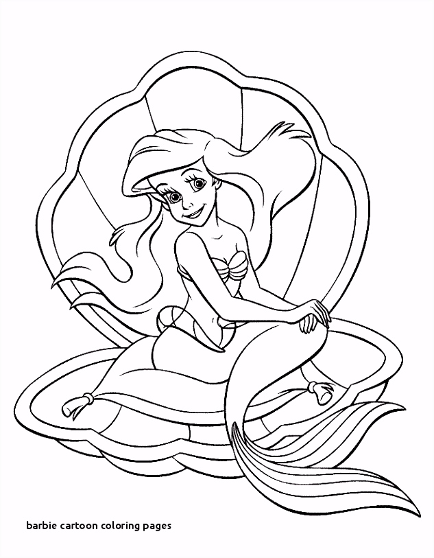 30 Barbie Cartoon Coloring Pages