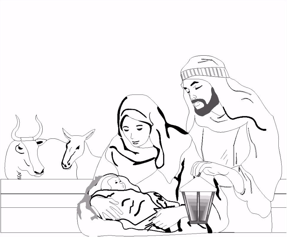 Kleurplaat Kerst Kleurplaat Kerst Bijbel Animaatjes