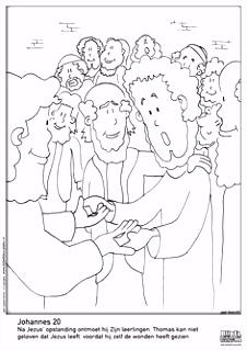 48 beste afbeeldingen van Kleurplaten Paasverhaal Sunday school