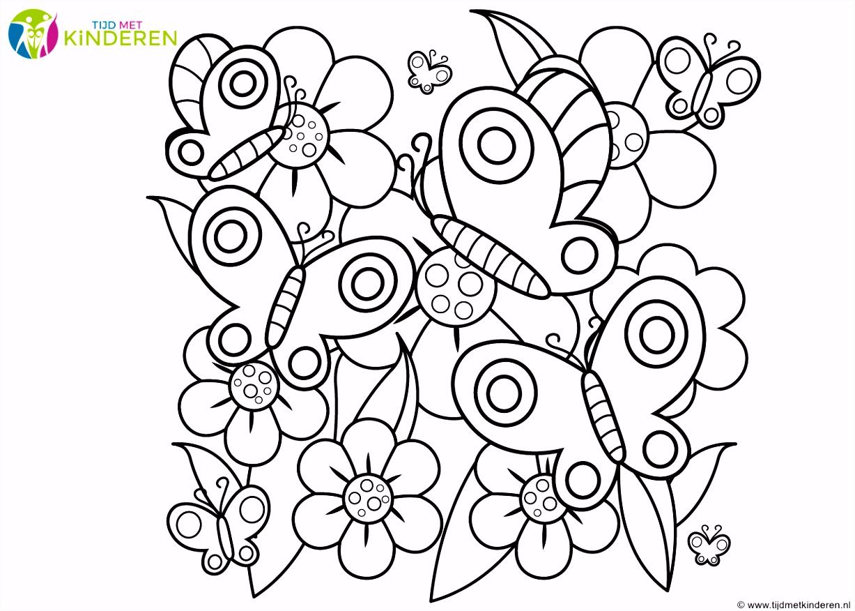 Beroemd Kleurplaten Voor Volwassenen Bloemen HW03
