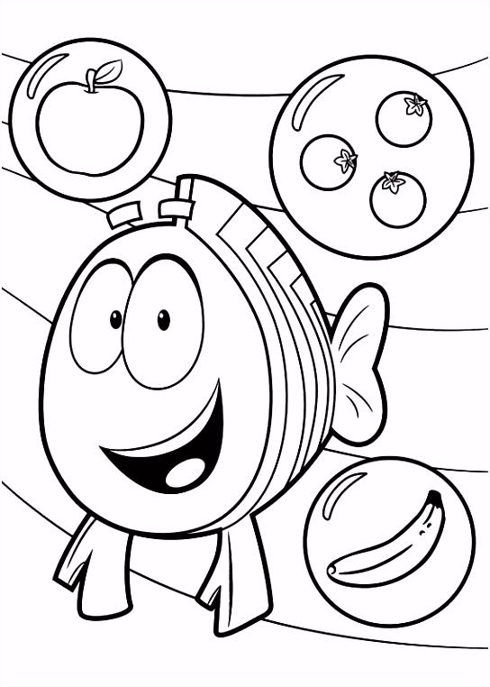 Bubble Guppies Kleurplaat ARCHIDEV
