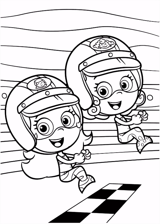 coloring page Bubble Guppies Bubble Guppies