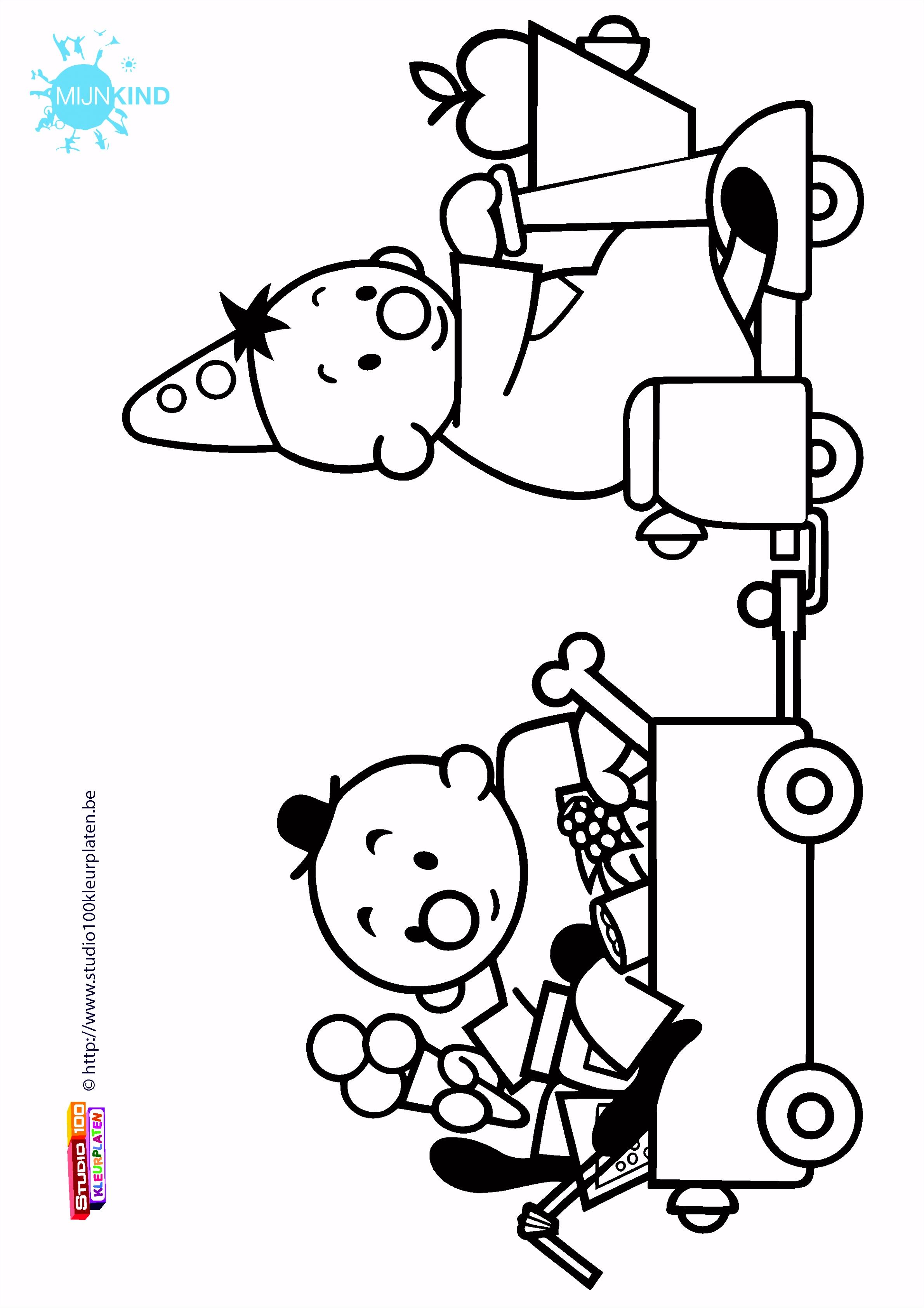Print de gratis kleurplaat van Bumba kleurplaat nummer 41 Mijn Kind
