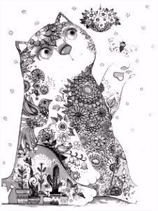 The 630 best ✐Adult Colouring Cats Dogs Zentangles images on