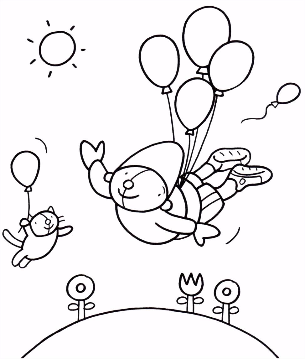 Kleurplaat Pompom feest pompom Pinterest
