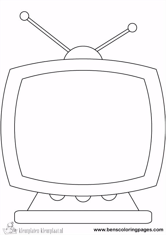 Tv Kleurplaat ARCHIDEV