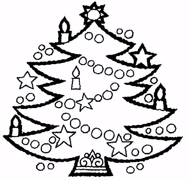 Kerst Kleurplaat Kerstmis