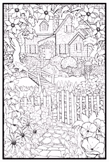 242 best Garden Coloring Pages images on Pinterest in 2018