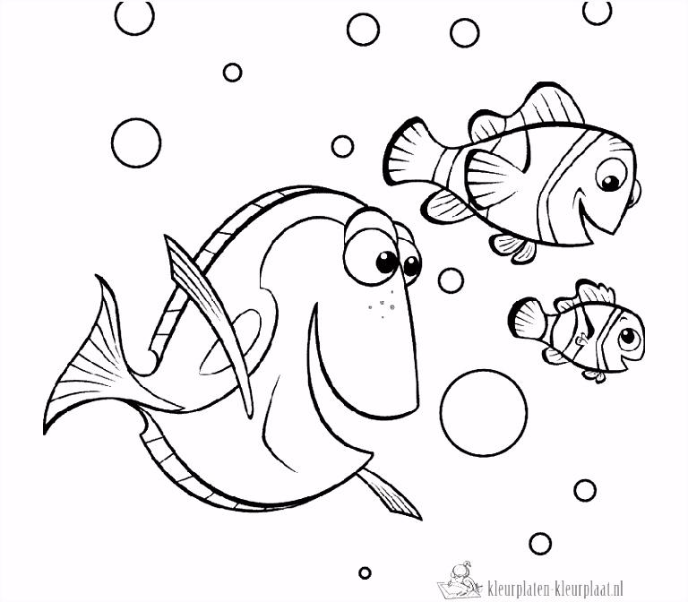 Nemo Kleurplaten Fris Kleurplaten Nemo – Werkbladen en kleurplaten